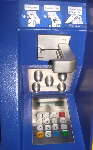 New ATM in Sales machine for train tickets
